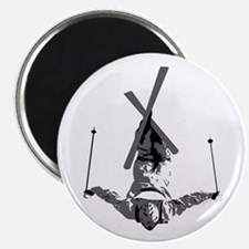 "Freestyle Skiing 2.25"" Magnet (100 pack)"