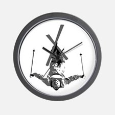 Freestyle Skiing Wall Clock