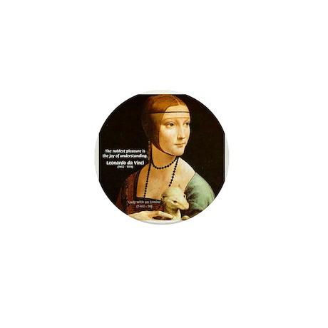 Leonardo da Vinci Pleasure Mini Button (10 pack)