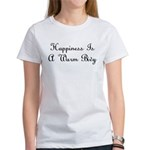 Happiness Is a Warm Bivy Women's T-Shirt