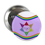 """Ga'avah Flag 2.25"""" Button (10 pack)"""