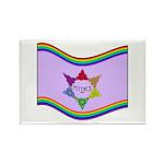 Ga'avah Flag Rectangle Magnet (10 pack)