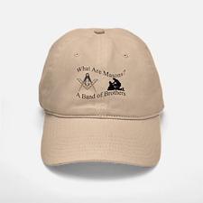 Freemasons. A Band of Brothers Baseball Baseball Cap