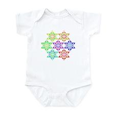 Star Pattern Infant Creeper