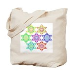 Star Pattern Tote Bag