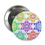 "Star Pattern 2.25"" Button (100 pack)"