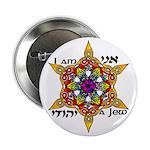 "Ani Yehudi 2.25"" Button (10 pack)"