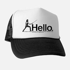 Princess Bride Inigo Montoya Trucker Hat