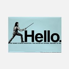 Princess Bride Inigo Montoya Rectangle Magnet