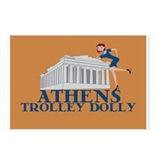Athens Trolley Dolly Postcards (Package of 8)