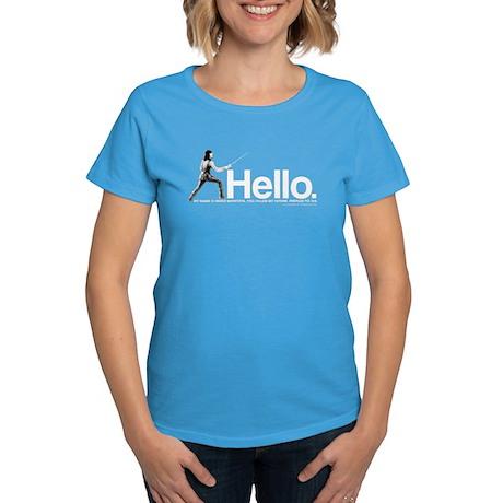 Princess Bride Inigo Montoya Women's Dark T-Shirt