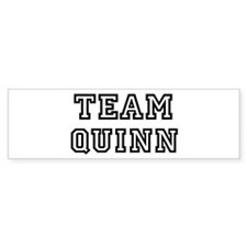 Team Quinn Bumper Bumper Sticker