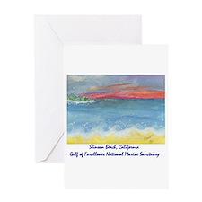 Stinson Beach, California Greeting Card