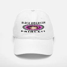 BLACK AMERICAN PRINCESS Baseball Baseball Cap
