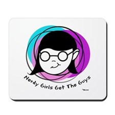 Nerdy Girl Mousepad