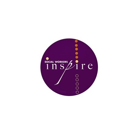 Social Workers Inspire Mini Button (10 pack)