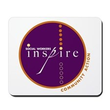 Social Workers Inspire Mousepad