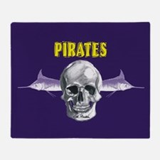 Pirates ECU Throw Blanket