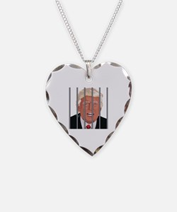 Cool Republicans Necklace Heart Charm