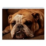 "Bulldog Wall Calendar ""J"""