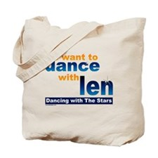 Dance with Len Tote Bag