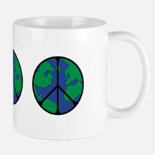 Global Peace Sign Mug