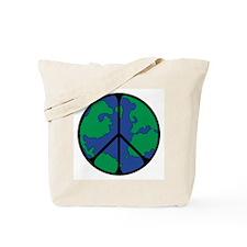 Global Peace Sign Tote Bag