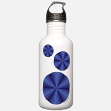 Blue Illusion Water Bottle
