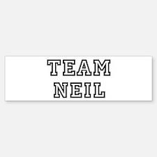 Team Neil Bumper Bumper Bumper Sticker