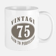 75th Vintage Brown Mug