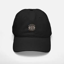 75th Vintage Brown Baseball Hat