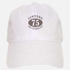 75th Vintage Brown Baseball Baseball Cap