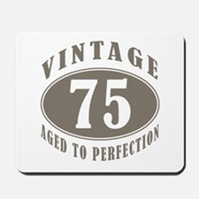 75th Vintage Brown Mousepad