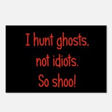 Ghosts, not idiots Postcards (Package of 8)