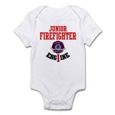 Junior Firefighter Infant Body Suit