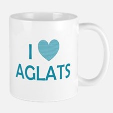 I Love Aglats Mug