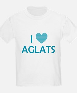 I Love Aglats T-Shirt
