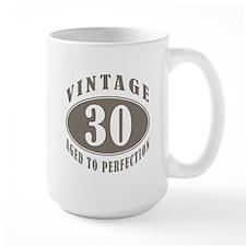 30th Vintage Brown Coffee Mug