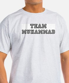 Team Muhammad Ash Grey T-Shirt