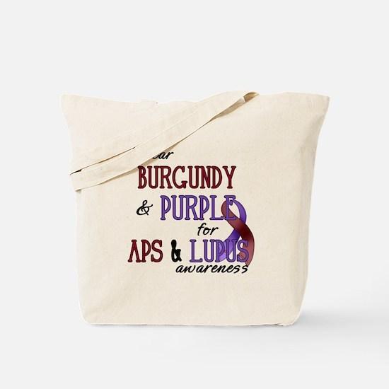 For APS & Lupus Awareness Tote Bag
