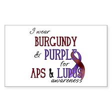 For APS & Lupus Awareness Decal