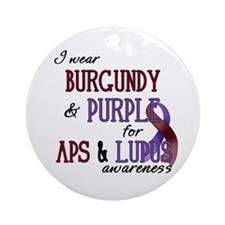 For APS & Lupus Awareness Ornament (Round)