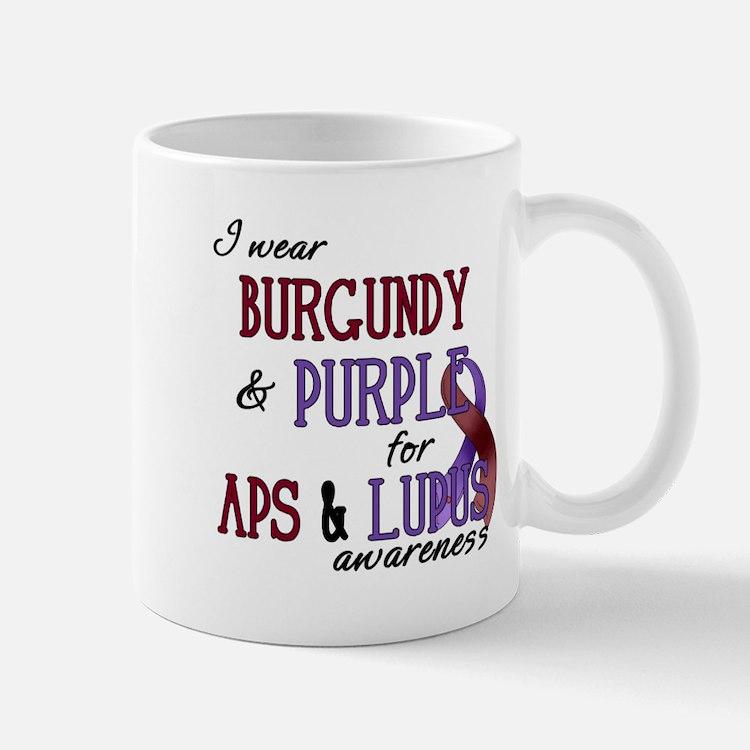 For APS & Lupus Awareness Mug