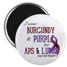For APS & Lupus Awareness Magnet