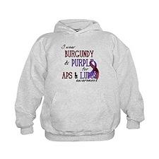 For APS & Lupus Awareness Hoodie