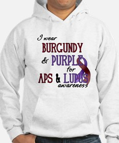 For APS & Lupus Awareness Hoodie