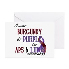 For APS & Lupus Awareness Greeting Cards (Pk o