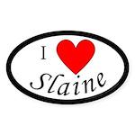 Support Slaine Sticker (Oval 10 pk)