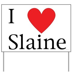 Support Slaine Yard Sign