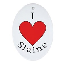 Support Slaine Ornament (Oval)
